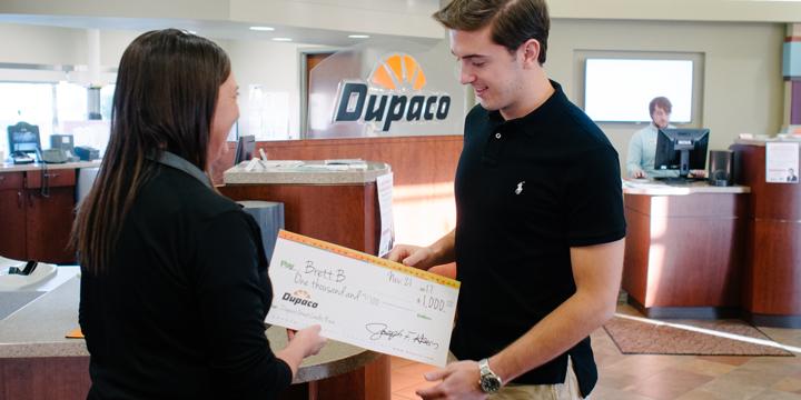 2017 Dupaco Great Credit Race winners