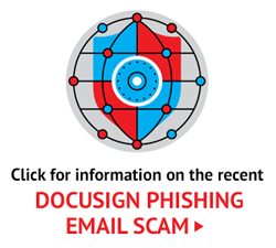 Click for information on the recent DocuSign phishing email scam