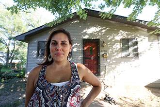 Ermina Soler, once impoverished, took part in Dupaco's MoneyMatch program and received matching grant money towards her downpayment, thus breaking a cycle of generational poverty in her family.
