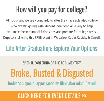 Click for more information on this free event - Life After Graduation: Explore Your Options.
