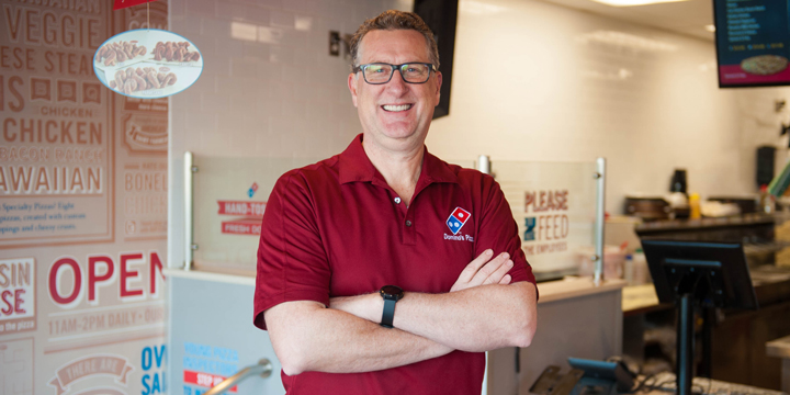A recipe for business success: Eric Lockhart with Dominos