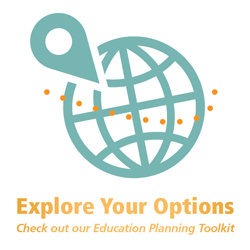 Explore your options: Education Planning Toolkit