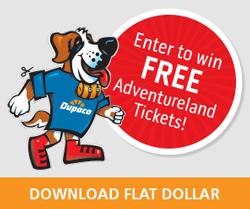 Enter to win four free Adventureland tickets