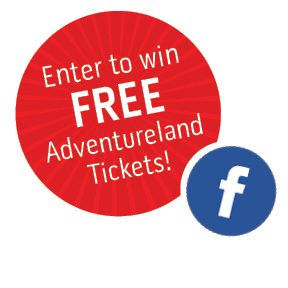 Enter to win 4 FREE Adventureland Tickets by participating in Dupaco's #FlatDollar contest!