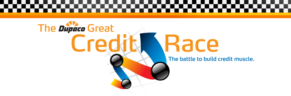 The Great Credit Race: The battle to build credit muscle.