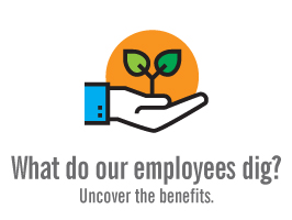 What do your employees dig? Uncover the benefits