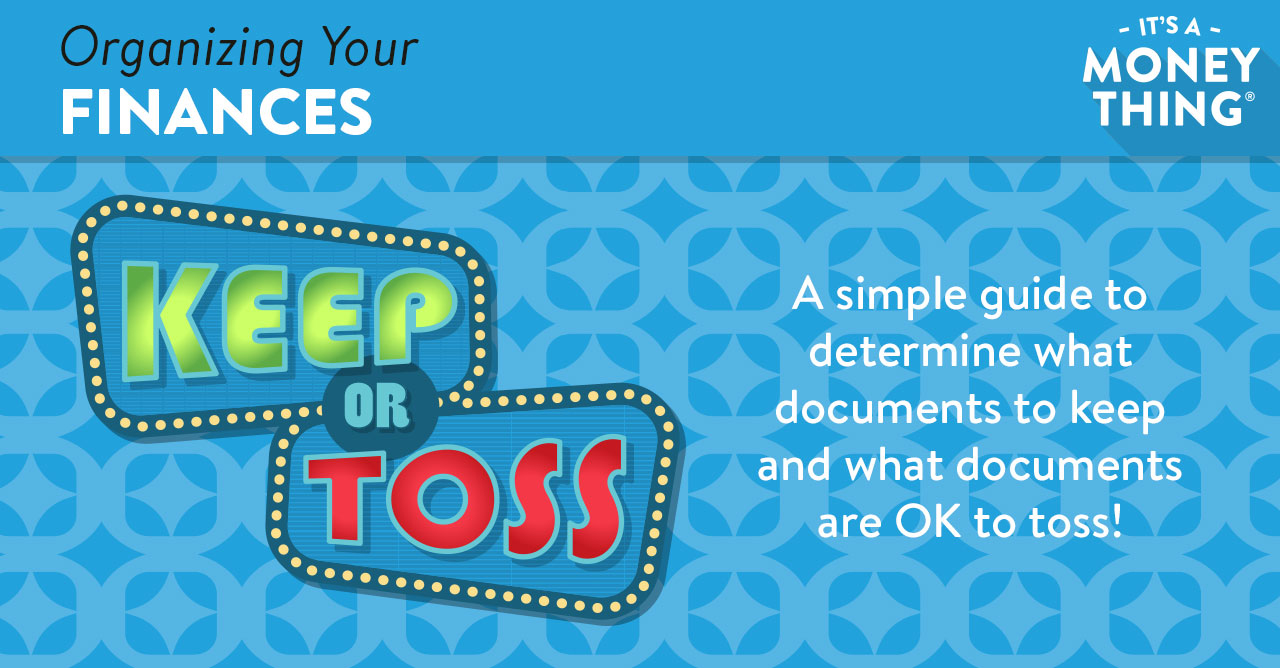 Download this guide to determine what to keep or toss