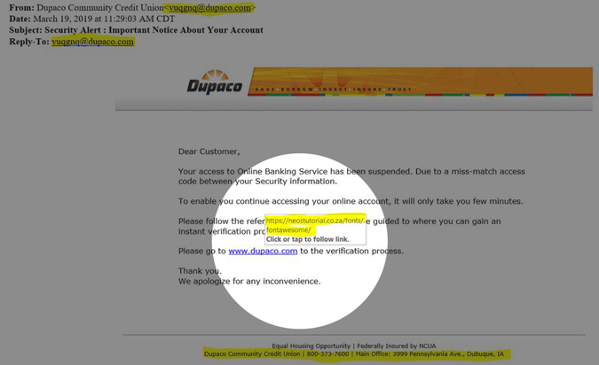 Is this email legit? Here's how to tell if a link is part of a phishing scam within an email
