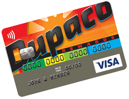 Dupaco Rewards Visa credit card