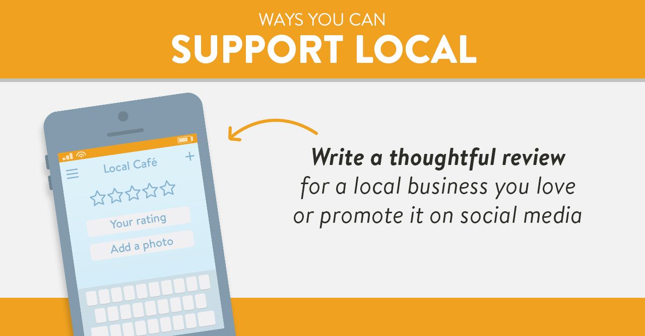 Ways to boost your local economy without spending money