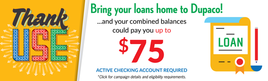 Dupaco Credit Union - Credit Union Loans