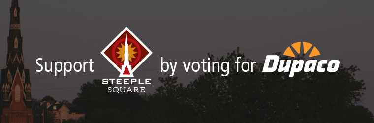 Support Steeple Square by voting for Dupaco