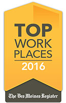 Top Workplaces 2016 - Des Moines Register