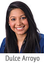 Dulce Arroyo, member services representative and Hispanic outreach coordinator