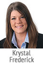 Krystal Frederick, mortgage consultant